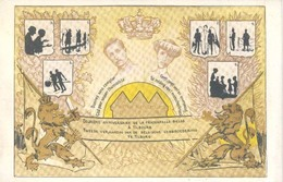 Tilburg, Hulpactie Belgische Soldaten(raster Op De Kaart Is Veroorzaakt Door Het Scannen;de Afbeelding Is Helder!)2scan - Tilburg