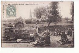 Moelan - Le Clocher, La Fontaine Saint Roch / Editions Villard N°3443 - Moëlan-sur-Mer