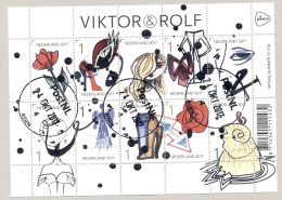 Nederland - 2017 - Velletje Viktor & Rolf - Echt Gebruikt - Periode 2013-... (Willem-Alexander)