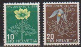 Schweiz 1949 MiNr.542 - 543 ** Postfr. Pro Juventute  Ansehen  ( 1732a ) Günstige Versandkosten - Nuovi