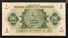 Tripolitania 1943 1 Lira Bb  LOTTO 481 - Unclassified