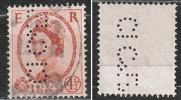 Gran Bretagna: Regina Elisabetta Perfin - Usato (vedi Foto) - 1902-1951 (Re)