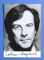 Musica - Autografo Del  Musicista Lothar Zagrosek - 1980 Ca. - Autografi