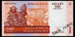 MADAGASCAR 500 ARIARY 2004 Pick 88c Unc - Madagascar