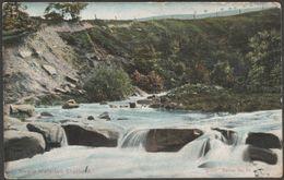 Rivelin Waterfall, Sheffield, Yorkshire, 1905 - Scott Russell Postcard - Sheffield