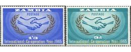 Ref. 286772 * MNH * - ZAMBIA. 1965. 20th ANNIVERSARY OF THE UNITED NATIONS . 20 ANIVERSARIO DE LAS NACIONES UNIDAS - Zambia (1965-...)