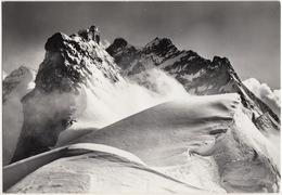 Jungfrau-Joch, Sphinx-Pavillon Mit Jungfrau 4163 M  - (1958) - (Switzerland/Suisse) - BE Berne
