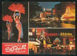 Alemania. *Hamburg. St. Pauli. Reeperbahn Bei Nacht* Nueva. - Otros