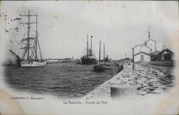 C.P.A. - FRANCE -  Port-la-Nouvelle Est Situé Dans Le Dép. De L'Aude - Entrée Du Port - Daté 1905 - TBE - Port La Nouvelle