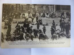 Oléron Le Chateau Prisonniers De Guerre Allemands Prenant Leur Repas (1914-1915) Militaire Braun N° 3321 - Ile D'Oléron