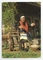 74 Haute Savoie - Viuz En Sallaz Femme De 91 Ans A Son Rouet Fileuse Eudoxie Blanc Ed Photo Robert Pellet - France
