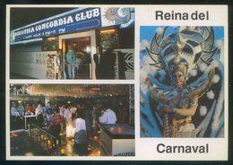 Canarias. Puerto De La Cruz. *Concordia Disco Club. Reina Del Carnaval* Nueva. - Otros