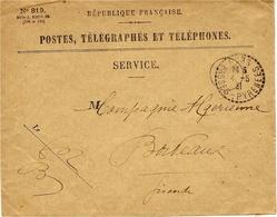 1931- Enveloppe  De  GURS  ( Bses Pyrénées ) Cad  Facteur Receveur 1 Cercle Pointillé - 1921-1960: Moderne
