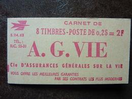 Marianne De Decaris  Carnet De 8 Timbres  S04-63  Y&T= 1263  ** MNH - Freimarke
