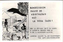 9 Oude Postkaarten  Esperanto Kunsttaal , Nieuwjaarswensen, Nova Jaro  Zamenhof 1859-1917, Antwerpen Sluitzegels - Esperanto