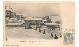 Briançon - Porte D'Embrun  - Effet De Neige  -  CPA° - Briancon