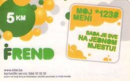 TARJETA TELEFONICA DE BOSNIA Y HERZEGOVINA (PREPAGO 28.02.2013). (547) - Bosnia