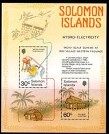 Solomon Islands 1986 Village Hydro-Electrity Project MS, MNH, SG 557 (B) - Salomoninseln (Salomonen 1978-...)