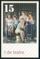 Barcelona. *Teatre Poliorama. T De Teatre. 15* Impreso Flyer. Ver Dorso. - Otros