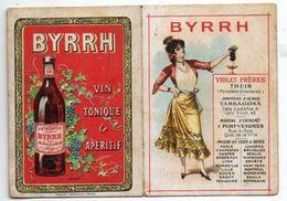 Calendrier De Poche 1903, Byrrh à 2 Volets - Calendriers