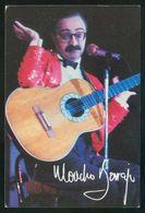 Barcelona. *Cabaret Casino'87. Moncho Borrajo* Impreso Flyer. Ver Dorso. - Otros