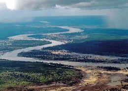 1 AK Mosambik * Blick Auf Den Limpopo River In Der Provinz Gaza * Der Fluß Mündet Bei Xai-Xai In Den Indischen Ozean * - Mozambique