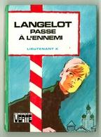 """Bibliothèque Verte - Lieutenant X - """"Langelot Passe à L'ennemi"""" - 1978 - Bibliothèque Verte"""
