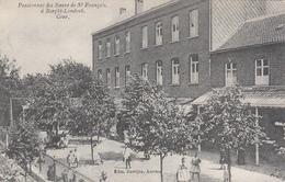 Borght Lombeek - Pensionnat Des Soeurs De St François - Cour (animée, Edm. Bastijns) - Roosdaal