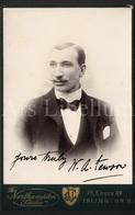 Cabinet Card / Photo De Cabinet / Kabinet Foto / The Northampton Studio / Islington / England / Man / William Fewson - Ancianas (antes De 1900)