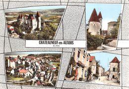 21-CHATEAUNEUF-EN-AUXOIS- MULTIVUES - France