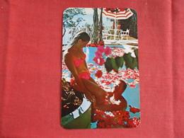 Female Bathing Suit ----Pool Hotel Las Brisas Acapulco Mexico  Stamp & Cancel -   -ref 2914 - Pin-Ups