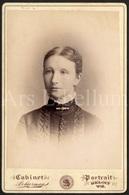 Cabinet Card / Photo De Cabinet / Kabinet Foto / Photographer Schurman / Beloit / Wisconsin / U.S.A. / Femme / Woman - Photographs