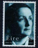 PIA - IRL - 1997 - Centenario Della Nascita Della Romanziera Kate O'Brien - (Yv 1014 ) - 1949-... Repubblica D'Irlanda