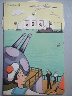 HUMORISTIQUE A SYSTEME / MARINS / N°340 / A. NOYER / BELLE CARTE / SIGNEE J.GSCHWIND - Humoristiques