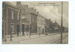 Trazegnies Comptoir Du Centre. Siège Du Bureau Auxiliaire - Courcelles