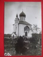 "TCHEQUIE - PRAHA - PRAGUE - VODICKOVA - CARTE PHOTO - "" EGLISE ORTHODOXE "" - .................."" RARE "" ......... - Tchéquie"