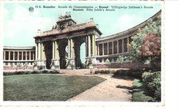 Bruxelles - CP - Brussel - Arcade Du Cinquantenaire - Places, Squares