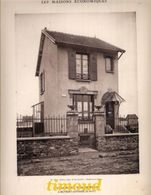 LES MAISONS ECONOMIQUES / SAVIGNY SUR ORGE / SEINE & OISE / A. BERNET  Architecte / 1929 - Architettura