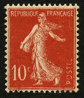 FRANCE - VARIETE - YT 135 ** - SEMEUSE 10c - SANS LE 2ème S De POSTES - TIMBRE NEUF ** - Abarten Und Kuriositäten