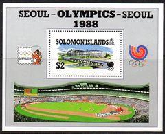 Solomon Islands 1988 Olympic Games MS, MNH, SG 635 (B) - Solomon Islands (1978-...)