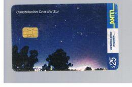 URUGUAY -   2002  SOUTH CROSS CONSTELLATION       - USED  -  RIF. 10463 - Uruguay