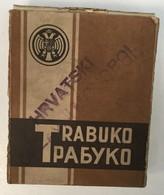 FULL UNUSED  TOBACCO  BOX   TRABUKO  HRVATSKI DRZAVNI MONOPOL - Schnupftabakdosen (leer)