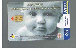 URUGUAY -   2003 ANTI TUBERCULOSIS, CHILD      - USED  -  RIF. 10463 - Uruguay