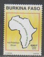 BURKINA FASO, 2016, MNH, PHILATELY, AFRICA PHILATELY,  1v, SCARCE - Philately & Coins