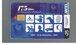 URUGUAY -   2004 175^ ANNIV. POLICE   - USED  -  RIF. 10464 - Uruguay