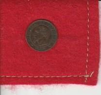 Napoléon III . 1  Centime  1853 W.  Second  Empire  ..état TTB - Frankreich