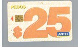 URUGUAY -   2005 25 PESOS   - USED  -  RIF. 10464 - Uruguay