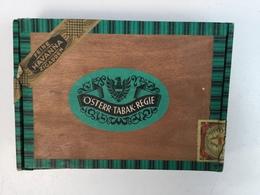 EMPTY  TOBACCO  BOX    ÖSTERR TABAK REGIE - Boites à Tabac Vides