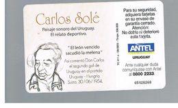 URUGUAY -   2005  CARLOS SOLE', REPORTER   - USED  -  RIF. 10464 - Uruguay