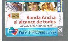 URUGUAY -   2006  ADSL, ANTELDATA  - USED  -  RIF. 10465 - Uruguay